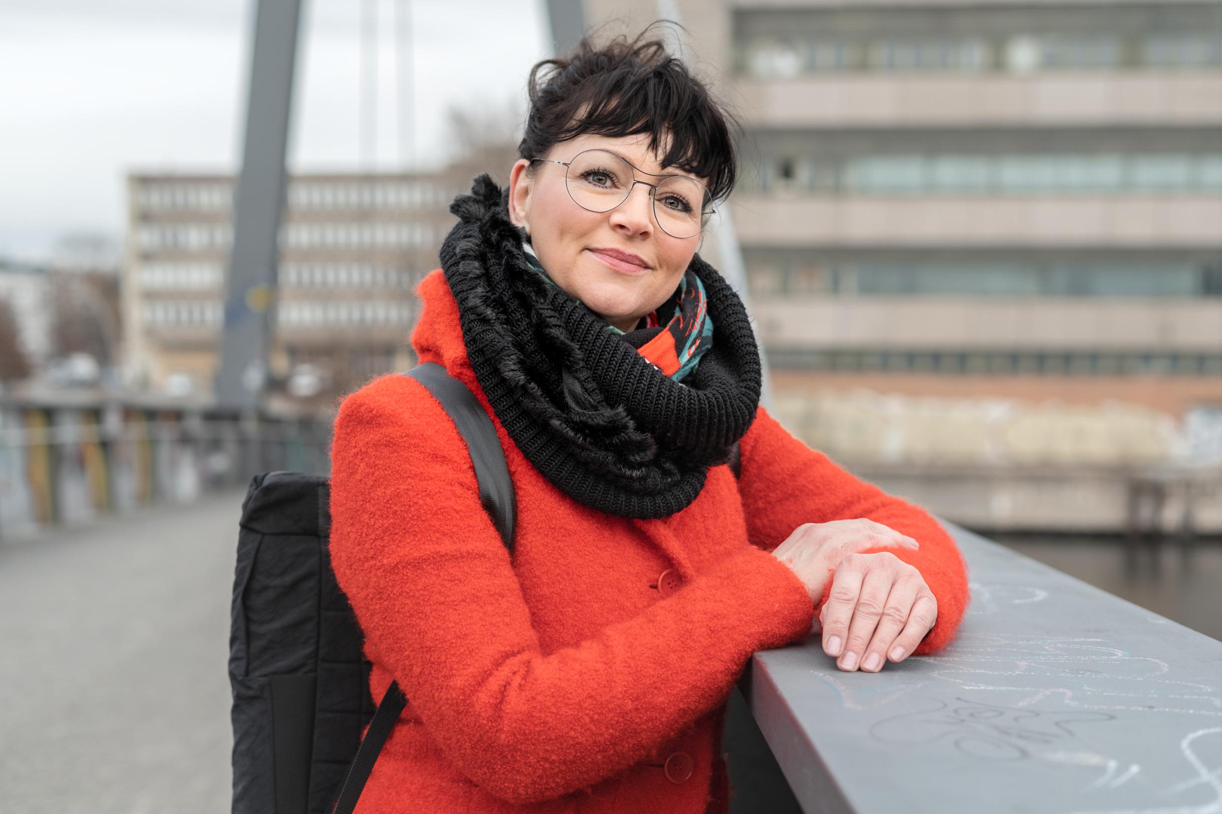 Ramona Schäfer auf Kaisersteg für Artikel Weltfrauentag