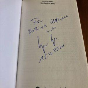 Autobiografie Gregor Gysi