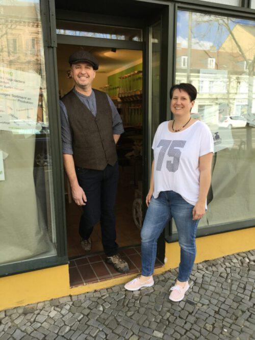 Steffen Lippert und Sibylle Benke.